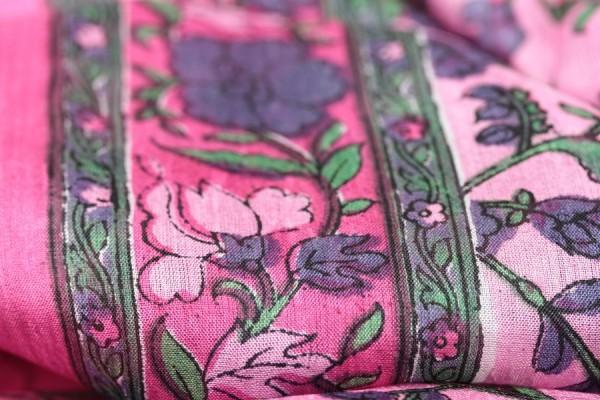 echarpe foulard soie indienne